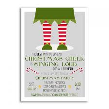 christmas invitations christmas invitation elf christmas party