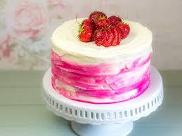strawberry ombre cake ofenkieker