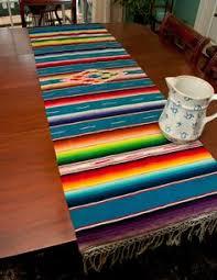 Serape Table Runner Anonymous Mexican Serape 1920s Textiled Pinterest