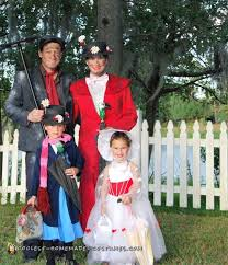 Mary Poppins Halloween Costume Kids 166 Family Group Halloween Costumes Images