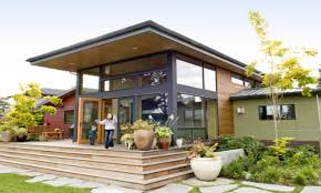 modern shed roof home plans