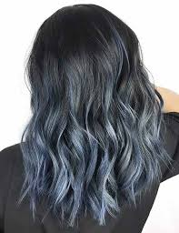 frosted hair color pictures 20 beautiful styling ideas for blue ombre hair