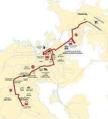 Bus Route Map A1 Bahrain Public Transport Company