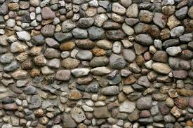 How To Build A Stone by How To Build A Stone Wall With Round Stones U0026 Cement Hunker