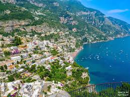 Positano Italy Map The Amazing Amalfi Coast Italy Travel To Eat