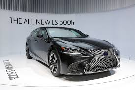 lexus is electric car 2018 lexus ls 500 f sport will touch down at the 2017 nyias