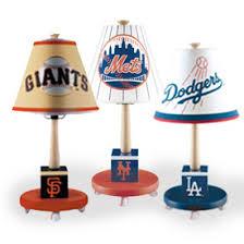 league baseball table lamp