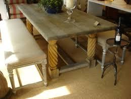 Oak Top Dining Table Belgian Oak Plank Top Dining Table Mecox Gardens