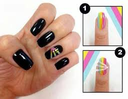 Awesome Cute At Home Nail Designs Photos Interior Design Ideas - Easy nail designs to do at home