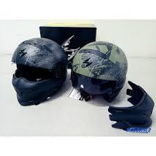 motorbike apparel scorpion exo combat helmet motorbikes motorbike apparel on carousell