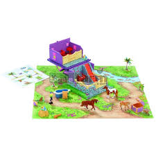 minnie whinnies breyer 300103 mini whinnies tropical paradise fold out barn