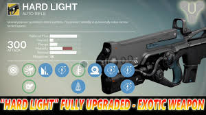 hard light destiny 2 hard light exotic weapon fully upgraded how good is it
