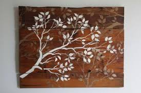 wall classic wood tree wall galleries tree wall stickers