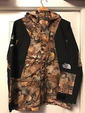 The North Face Mountain Light Jacket Supreme X Tnf Mountain Light Leaves Jacket Large Fw16 The North