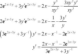 calculus i implicit differentiation