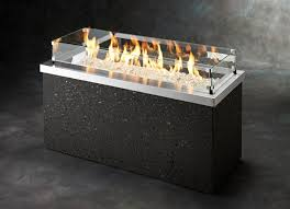 Glass Firepit Pit Glass Large Sorrentos Bistro Home