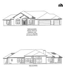 Bedroom House Plans One Story - 1 story home designs