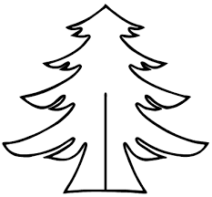 christmas tree cutout pattern patterns and ideas xmas