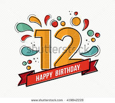 Happy Birthday Design Card 12 Birthday Stock Images Royalty Free Images U0026 Vectors Shutterstock