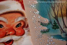 very merry vintage syle sparkle and shine vintage christmas cards
