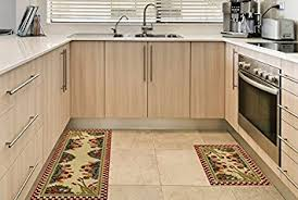 Rubber Area Rugs Amazon Com Anti Bacterial Rubber Back Home And Kitchen Rugs Non