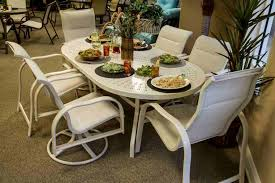 Aluminum Dining Room Chairs Why You Should Go For Aluminum Patio Furniture Palm Casual