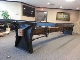 Pool Table Conference Table Buy A Hand Made Industrial Conference Table Made To Order From M