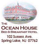 The Ocean House Bed And Breakfast Hotel Spring Lake Spring Lake Pinterest Hotel Amenities Ocean
