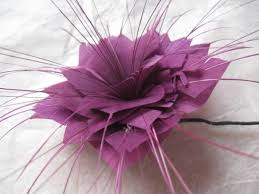 feather flower coloured feather flower sale item