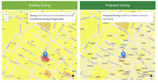Austin Zoning Map by Codenext Comparison Map Austin