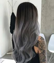 black grey hair 20 smoky grey ombré hair colour ideas to copy from instagram