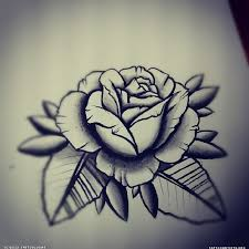 grey and black rose tattoo tattoo collection
