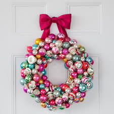 ornament wreath martha stewart