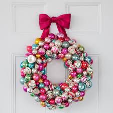 ornament wreath martha stewart