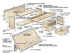 How To Build Drafting Table Drafting Table Plans Diywoodtableplans