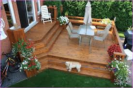 Simple Backyard Patio Ideas Backyard Deck Designs Nightvale Co