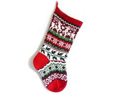 top christmas stocking knitting pattern picks
