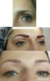 Eyebrow Tattoo Before And After Forouz Beauty U2013 Toronto Eyebrow Hair Stroke Before Tattoo
