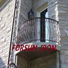 stainless balcony railing forged iron balcony wrought iron balcony
