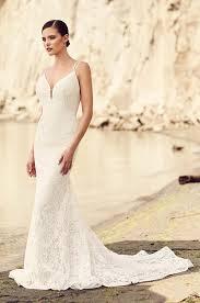 lace train wedding dress style 2103 mikaella bridal
