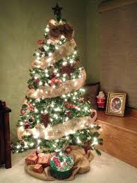 where to buy brown christmas tree christmas tree ribbon garland tree with burlap garland in white
