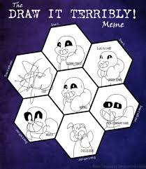 Sans Meme - draw it terrably meme sans by sillytillystudios on deviantart