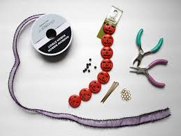 how to make a halloween bead garland loulou downtown