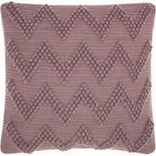 Modern Purple Decorative Throw Pillows