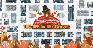 thanksgiving sales highlights seeed studio