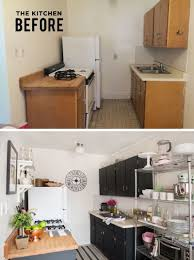 studio kitchen ideas for small spaces alaina kaczmarski s lincoln park apartment tour apartments park