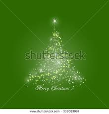 vector green christmas background shining christmas stock vector