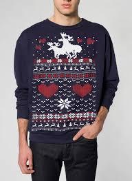 sweater moose pullover sweatshirt