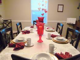decorating valentine decorations ideas for table with simple and
