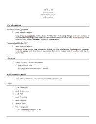 simple resume templates resume examples basic resume examples